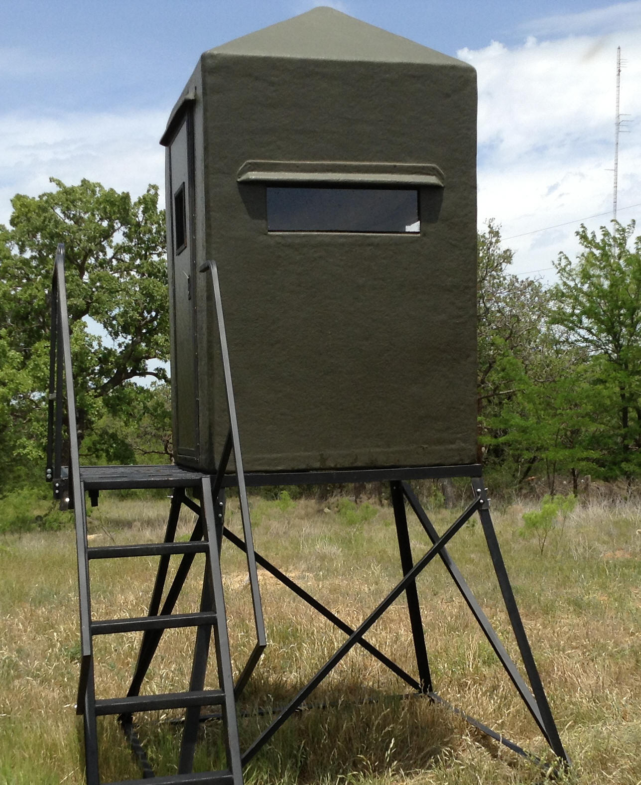 sale blinds tx hunting garland deer onsite for available texas setup not in