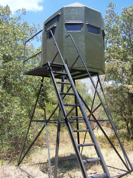Deer Box Blinds For Sale http://www.texasdeerstands.com/
