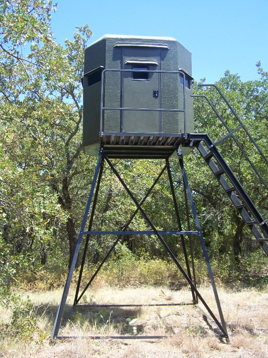 Free box deer stand building plans auto design tech for Free homemade deer stand plans