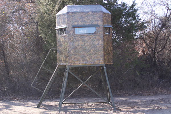 Fiberglass deer shooting houses video search engine at for Honey island shooting range